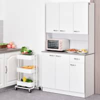 Buy Freestanding Kitchen Cabinets Online At Overstock