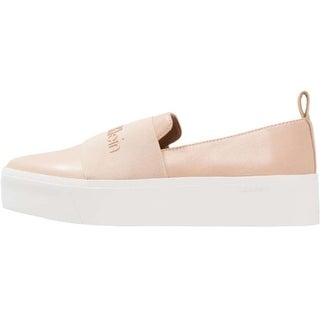 Calvin Klein Womens Jacinta Low Top Slip On Fashion Sneakers