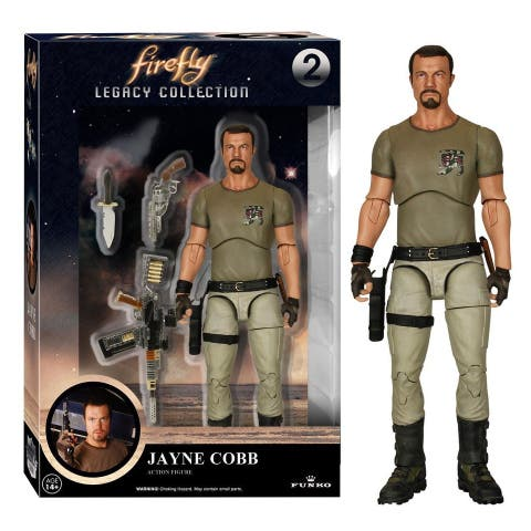 "Firefly Funko Legacy 6"" Action Figure: Jayne Cobb - multi"