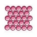 Swarovski Elements Crystal, Round Flatback Rhinestone Hotfix SS20 4.6mm, 50 Pieces, Indian Pink - Thumbnail 0