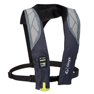 """Onyx A-24 In-Sight Automatic Inflatable Life Jacket - Grey A-24 In-Sight Automatic Inflatable Life Jacket - Grey"""