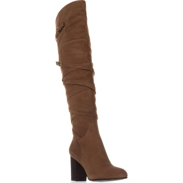 Sam Edelman Sable Over-The-Knee Boots, Camel Suede