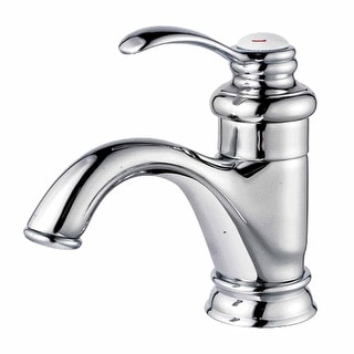 Bathroom Faucet Chrome Plated Ashley Single Hole 1 Handle | Renovator's Supply