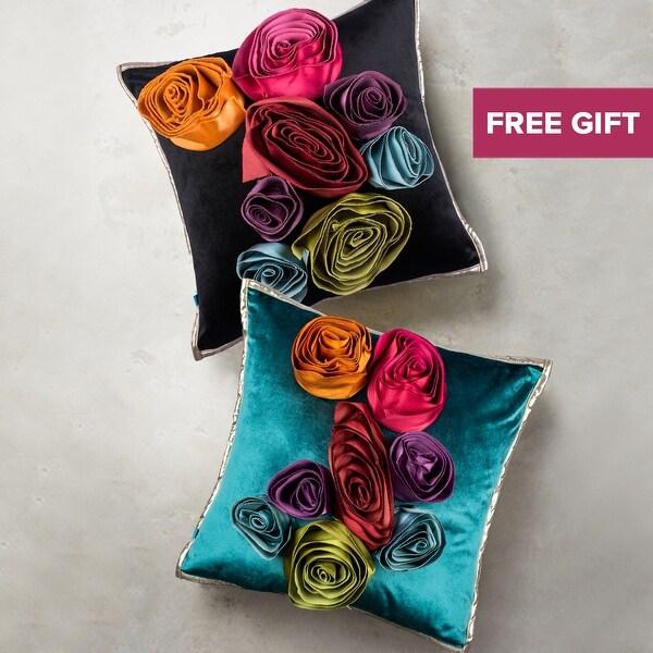 Shop Handmade Eclectic Glam Boho Floral Decorative Velvet