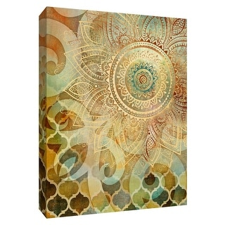 """PTM Images 9-148446  PTM Canvas Collection 10"""" x 8"""" - """"Coral Strokes"""" Giclee Flowers Art Print on Canvas"""