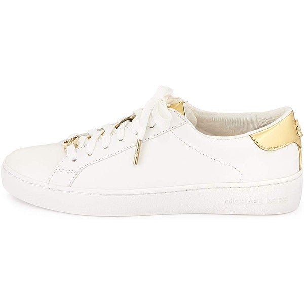 Shop Michael Michael Kors Womens Irving Lace Up Leather Low