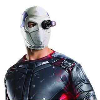 Suicide Squad Deadshot Light Up Costume Mask Adult One Size
