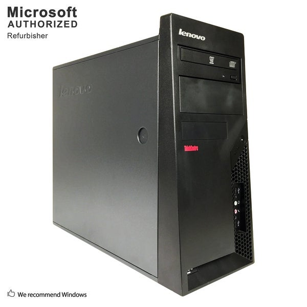 Lenovo M58 TW, Intel E8400 3.0GHz, 4GB, 500GB HDD, DVD, WIFI, BT 4.0, VGA, W10H64 (EN/ES)-Refurbished