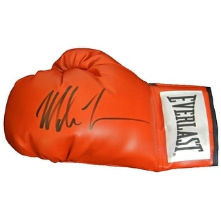 Mike Tyson Everlast Red Full Size Boxing Glove