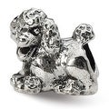 Sterling Silver Reflections Poodle Bead (4mm Diameter Hole) - Thumbnail 0