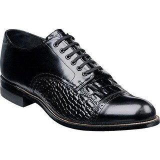 Stacy Adams Men's Madison 00034 Black Leather