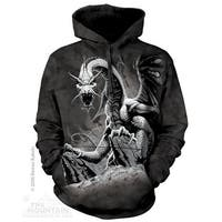 The Mountain Cotton Black Dragon Hoodie