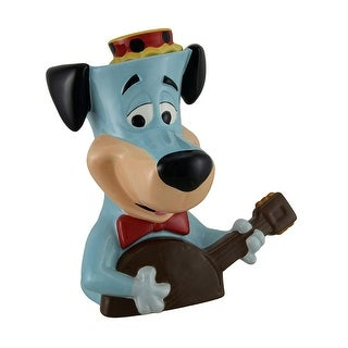 Huckleberry Huck Hound Playing Guitar Decorative Ceramic Cookie Jar
