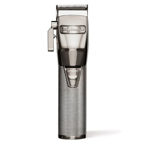 Babyliss Pro Silver Metal Cordless Clipper FX870S