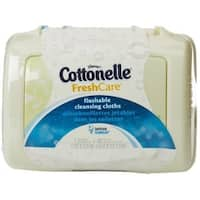 Cottonelle Fresh Flushable Moist Wipes Pop-Up Tub 42 Each