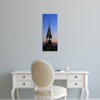 Easy Art Prints Panoramic Images's 'Twilight, Chrysler Building, Manhattan, New York City, New York State' Canvas Art