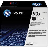 HP 90X 2-pack High Yield Black Original LaserJet Toner Cartridges (CE390X)(Single Pack)