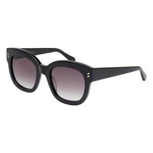 Sc0026S 001 Women'S Black Sunglasses With Grey Lenses
