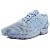 Adidas Zx Flux Men  Round Toe Synthetic Blue Sneakers
