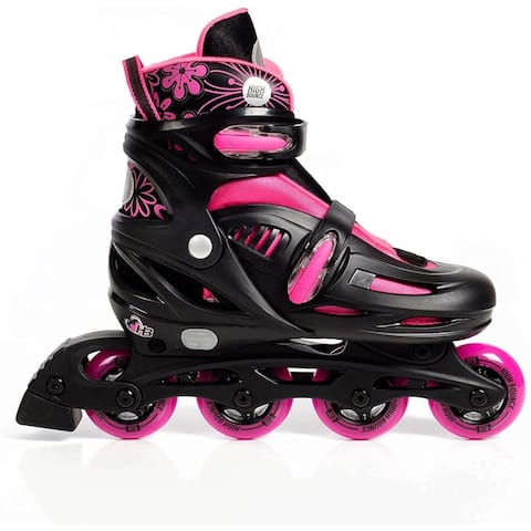High Bounce Adjustable Inline Skate Pink Small (12-1) ABEC 5