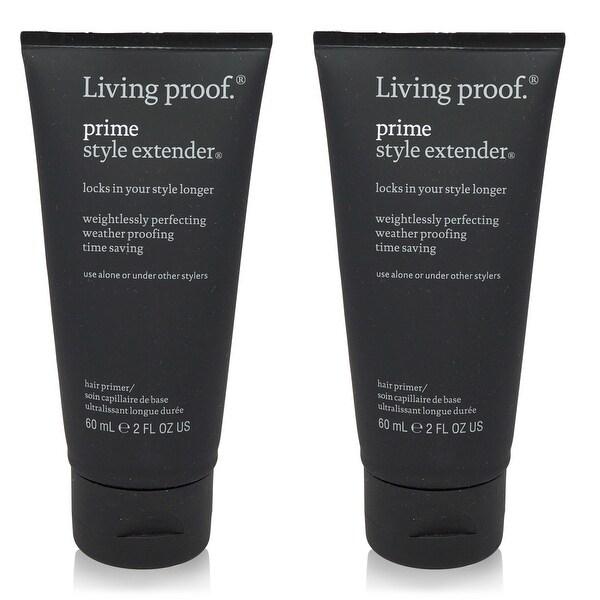 Living Proof Prime Style Extender Cream Travel 2 Oz - 2 Pack