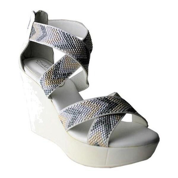 84501574e70 ... Women s Shoes     Women s Sandals. Charles by Charles David  Women  x27 s Fani Platform Wedge Sandal Clarity Chevron Elastic