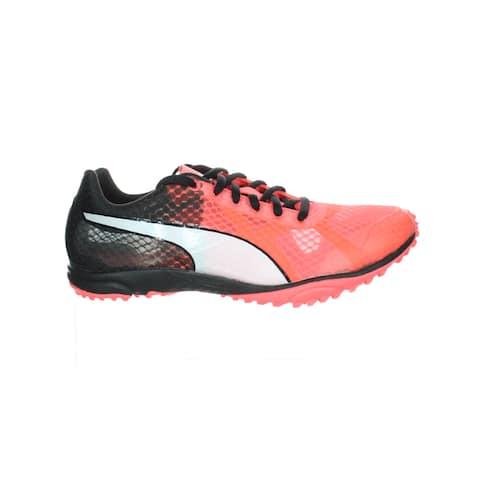 PUMA Mens Evospeed Haraka 6 Coral Track Shoes Size 8
