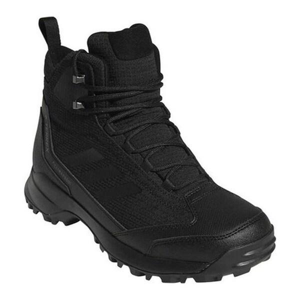 1638246bfb3 Shop adidas Men's Terrex Heron Mid CW CP Hiking Boot Black/Black ...