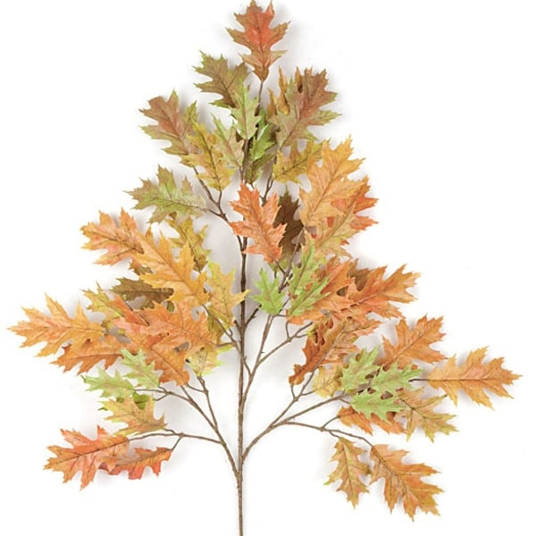 Autograph Foliages PR-4696 29 in. Pin Oak Branch Autumn & Rust