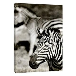 "PTM Images 9-105154  PTM Canvas Collection 10"" x 8"" - ""Zebra"" Giclee Zebras Art Print on Canvas"