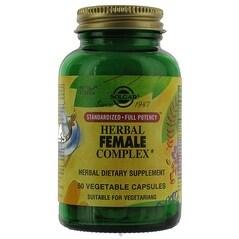 Solgar Sfp Herbal Female Complex (50 Veggie Capsules)