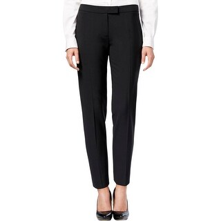 Anne Klein Womens Dress Pants Wool Blend Straight Leg