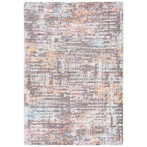 Safavieh Crystal Michiru Modern Abstract Distressed Rug
