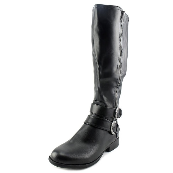 Life Stride X-Must Wide Calf Round Toe Synthetic Knee High Boot