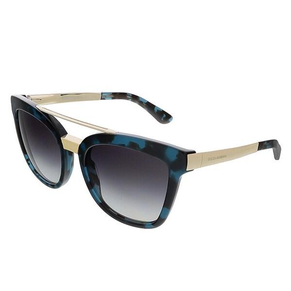 Dolce & Gabbana DG4269 28878G Cube Petrol Square Sunglasses - 54-20-140