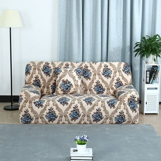 Unique Bargains Stretch Flower Prints Sofa Slipcovers For 1/2/3 Seats