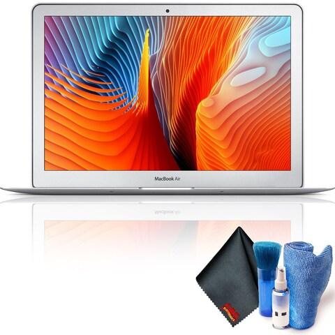 "Apple 13.3"" MacBook Air (Mid 2017, Silver) 128GB Hard Drive SSD Base Combo"