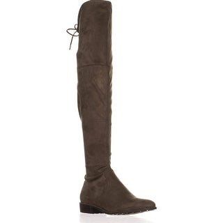 Marc Fisher Womens HUMOR2 Almond Toe Over Knee Fashion Boots