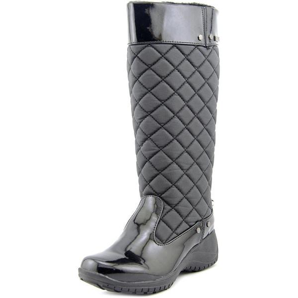 Khombu Merritt Women  Round Toe Synthetic Black Rain Boot