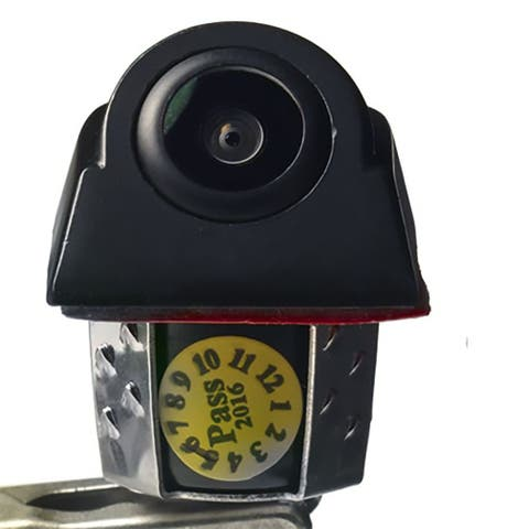 Audiovox aca501d voxx universal mount back-up camera with dynamic parking lines