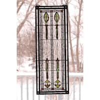 Meyda Tiffany 68020 Stained Glass Tiffany Window from the Arts & Crafts Collection - n/a