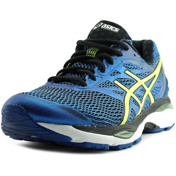 Asics Gel Cumulus 18 Round Toe Synthetic Running Shoe