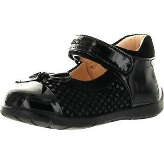 Geox Girls Infant Kaytan Fashion Sneaker Flats Shoes - Dark Purple