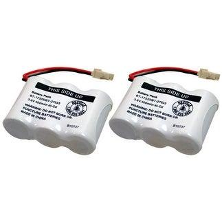 Replacement Battery For VTech CS2111 / CS5121 Phone Models (2 Pack)