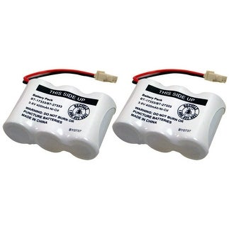 Replacement Battery For VTech 89-1338-00-00 / BT263345 Battery Models (2 Pack)