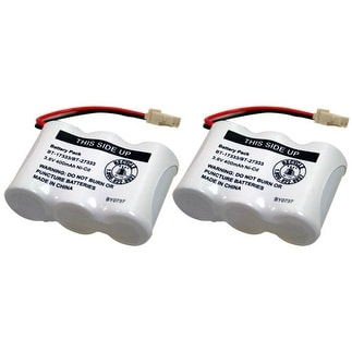 Replacement Battery For VTech BT163345 / BT27233 Battery Models (2 Pack)