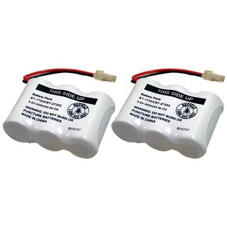 Replacement Battery For VTech CPB-403J / 312AAU Battery Models (2 Pack)