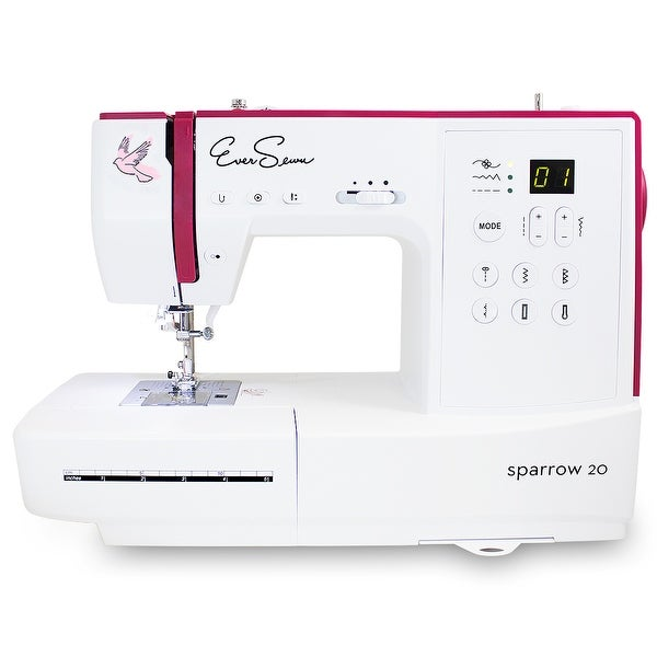 Shop EverSewn Sparrow 40 40 Stitch Computerized Sewing Machine Amazing Omega 3000 Sewing Machine