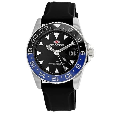 Seapro Men's Black Dial Watch - SP0123B