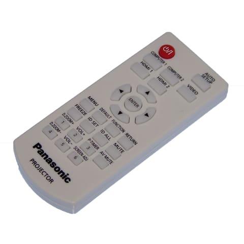 OEM Panasonic Remote Control Shipped With PTVX600U, PT-VX600U, PTVX610, PT-VX610